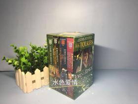 全新塑封指环王霍比特人美版电影封面版绿盒四册平装合集the lord of the ring hobbit trilogy box