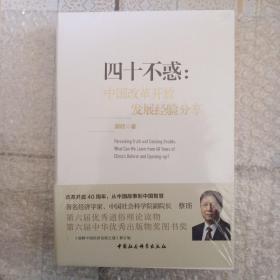 四十不惑:改革开放中国经验分享 精装
