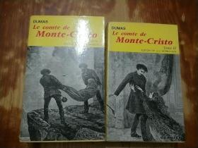LE COMTE DE MONTE-CRISTO 1.2(法文原版 基督山伯爵  1、2)