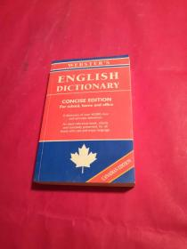 Websters English Dictionary Concise Edition