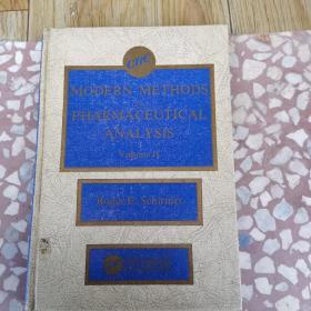 Modern Methods of Pharmaceutical Analysis, VoIumeII, Volume II