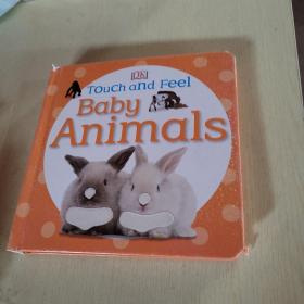 Touch and Feel: Baby Animals [Board Book]