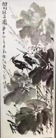 中美协 画家刘继红 大写意花鸟画领军人物 精品水墨画