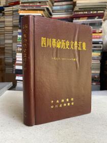 四川革命历史文件汇集1938.10-1940  甲13(精装本)