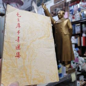 [红色文化珍藏]毛泽东手迹题字题词集《毛主席手书选集 》1967年出版 有藏书者签名