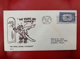 1941-1945美国二战信封01