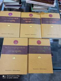 六世贡唐仓·丹贝旺旭文集 : 全5册 : 藏文