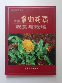 彩图多肉花卉观赏与栽培 (正版新书 16开本)