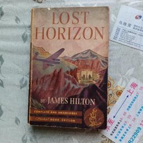 LOST  HORIZON  消失的地平线(1945年出版)