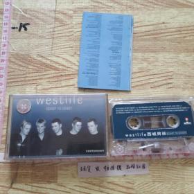 磁带:  西城男孩合唱团(有歌词)