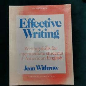 Effective Writing (writing skills for intermediate students of american english)