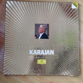 原西德首发1984年贝多芬《第九交响曲》卡拉杨指挥,柏林爱乐演奏