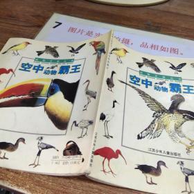 空中动物霸王/动物王国丛书  有字迹划线