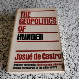 THE GEOPOLITICS OF HUNGER Josue de Castro