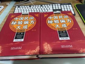 中国民间秘验偏方大成(第3版)(上下)(精)