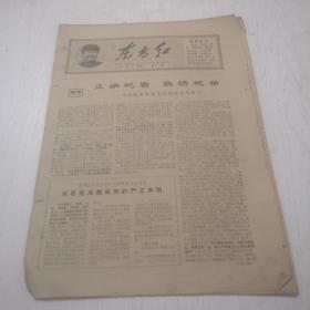 文革时期报纸:东方红(1967年5月,第29,30期)共8版