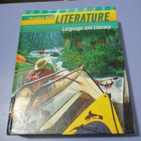 PRENTICE HALL LITERATURE LANGUAGE AND LITERACY (精裝16開)