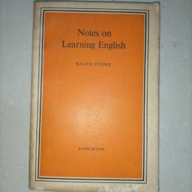 Notes on learning english