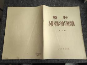 顿特小提琴练习曲与随想曲(作品35)【含附录:准备练习和变体】