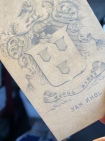 美国国务卿海约翰藏书票