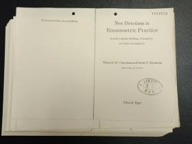 New Directions in Econometric Practice