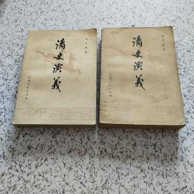 清史演义(上下册)