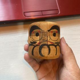 日本达摩 木质益智拼图拼接玩具