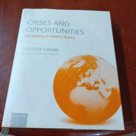 《CRISES AND OPPORTUNITIES the shaping of modern finance》目录页有损见图