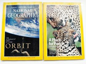 NATIONAL GEOGRAPHIC JULY 1996年7、11月号