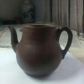 老紫砂壶(无盖)