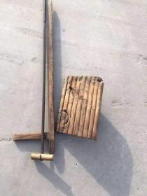 民俗老物件 盖草房用的 一套  工具 完整 正常使用
