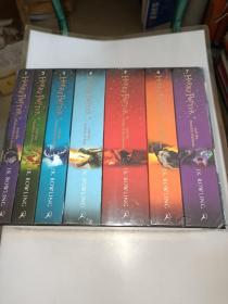 哈利波特1-7全集套装 Harry Potter 7本全套 英国版 J.K.罗琳小说盒装  未开封