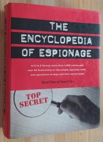 英文原版书  Encyclopedia of Espionage 间谍百科全书 Norman Polmar  (Author), Thomas B. Allen  (Author)