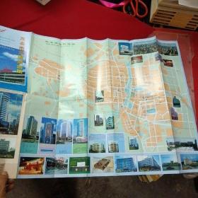 茂名市交通旅游图-98年