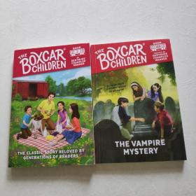 The Boxcar Children、TheVampireMystery【2本合售】