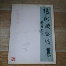 张洪波书法集 签赠本