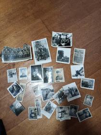 老照片:军人照二十多张合售