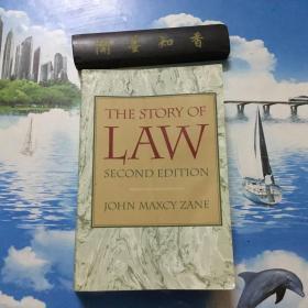 英文原版   The Story of Law   内页无写划