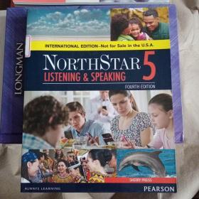 培生北极星系列听说教程学生用书第5级 (第4版)英文原版 NorthStar-