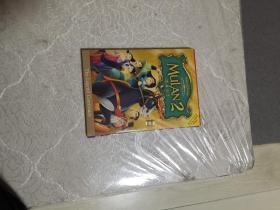 DVD:花木兰2(盒装,双碟。)