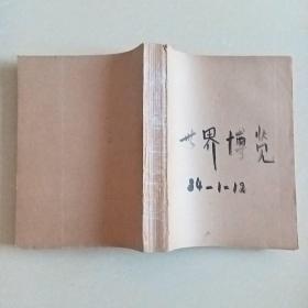 世界博览(1984年1-12期合订本)含创刊号