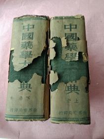 中国药学大辞典(上下册) 民国二十四年 精装