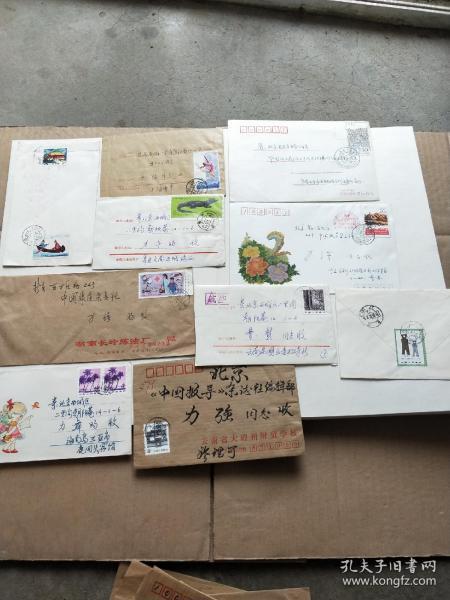 八十年代实寄封一批28枚合售 好邮票邮戳多多 具体看图