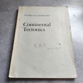 大陆构造Continental Tectonics*