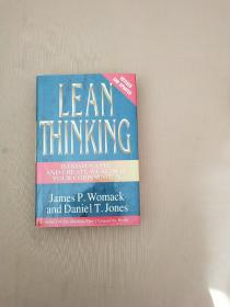 Lean Thinking:Banish Waste and Create Wealth in Your Corporation, Revised and Updated(精装)