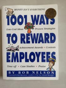 1001 ways to reward employees 英文原版20开近新