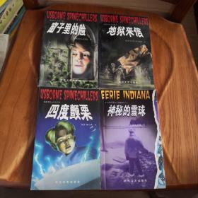 少年惊险科幻小说系列:窗子里的脸、地狱来信、四度颤栗、神秘的雪球、隐形人、恶运之钟 (6本合售)