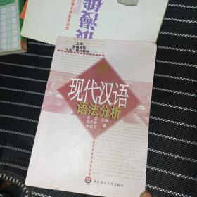 现代汉语语法分析/上海普通高校九五重点教材