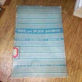 VOICE and DICTION HANDBOOK(馆藏大32开)实物图