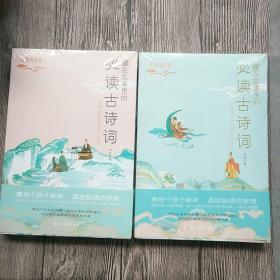 藏在故事里的必读古诗词·水墨丹青篇(国风版,你应该熟读的中国古诗词) 千古至情篇两本合售